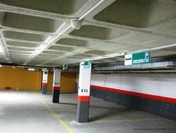 Señalización parking Bizkaia