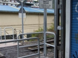 Burladero acceso