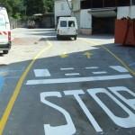Señalización stop, paso de cebra, ...