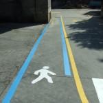 Pasillos peatonales