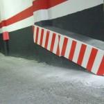 Protección esquinas y columnas garaje
