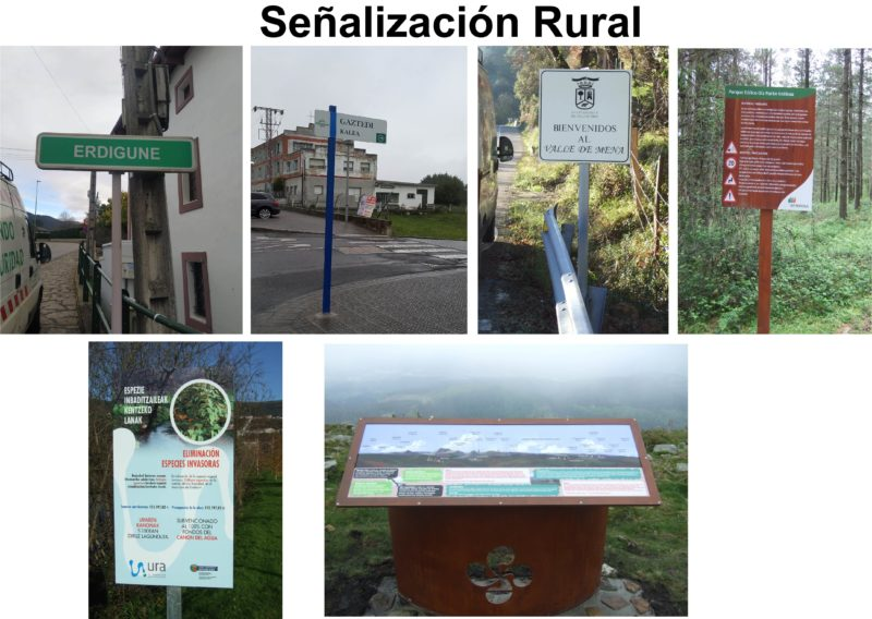 Señalización Rural