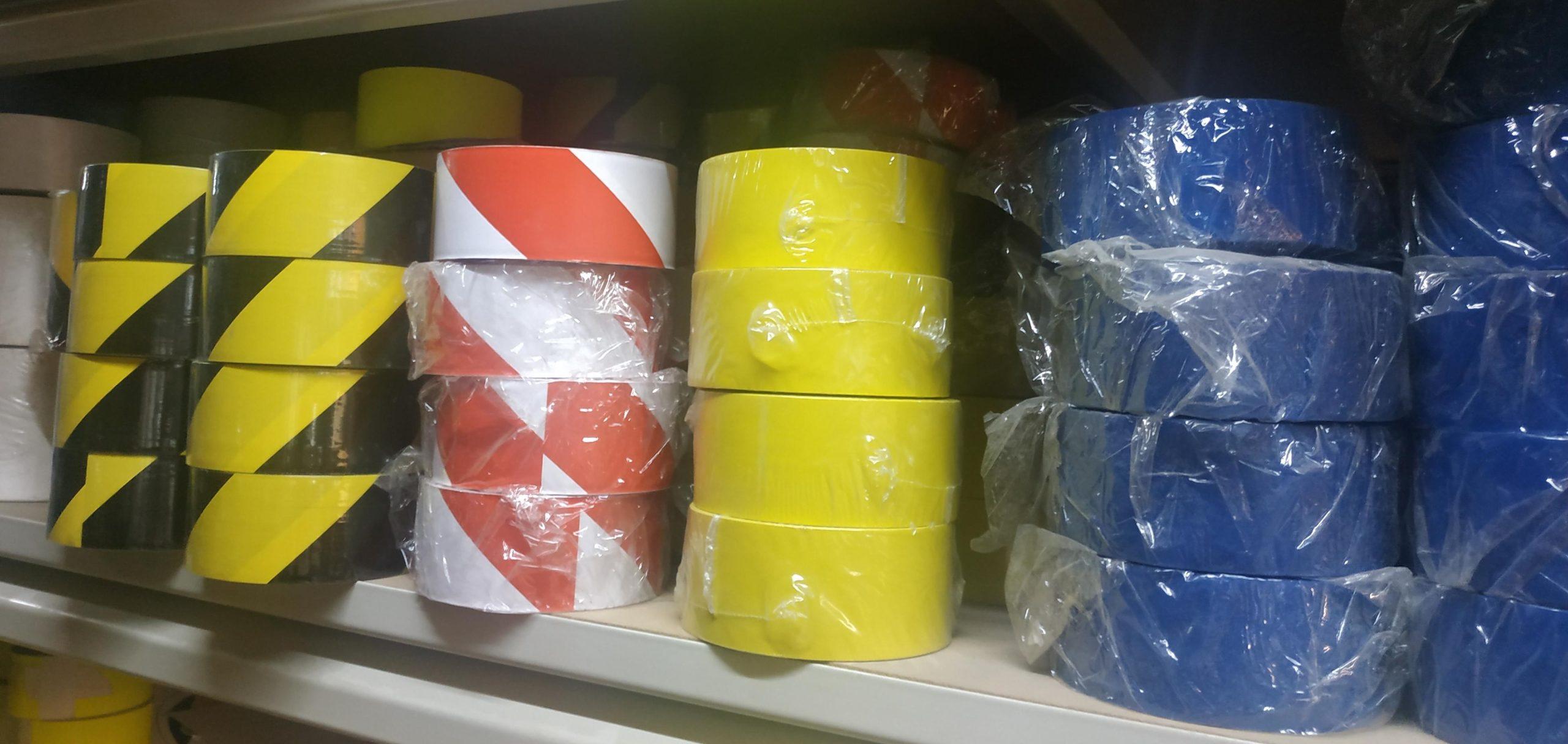 Rollos cinta adhesiva para suelo