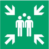 Señal Punto de Reunión Emergencias