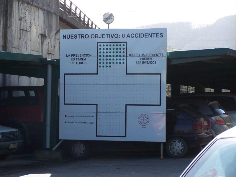Panel número accidentes