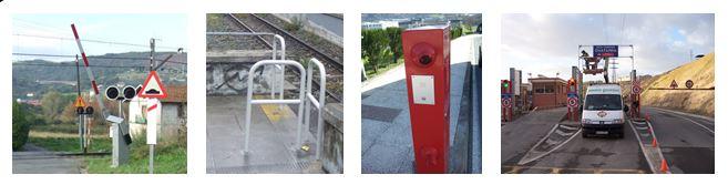 Gálibos altura y control accesos Bizkaia