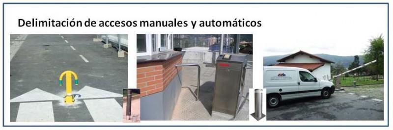 Control de accesos de Peatones y Vehículos