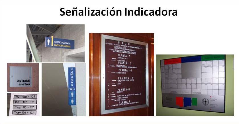 Directorios informativos identificación