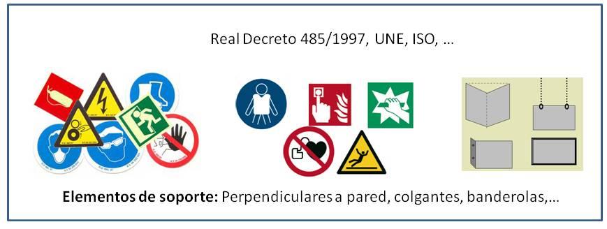 Señalización ISO 7010 , UNE 23032, RIPCI,