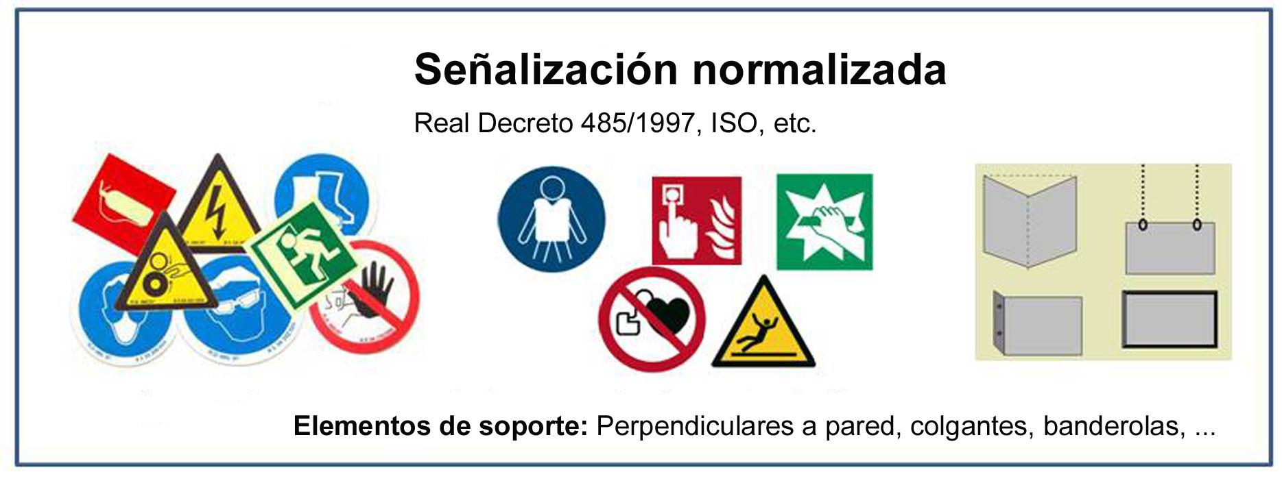 Señalización Normalizada ISO, RIPCI