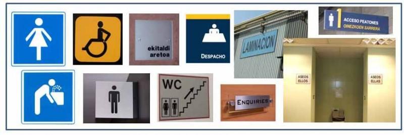 Paneles y placas informativas Bizkaia