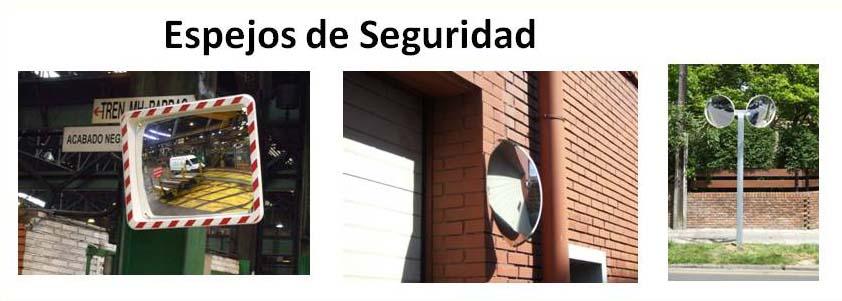 Espejos de seguridad. Especiales