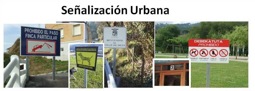 Señalización urbana - Carteles Informativos